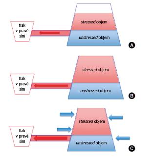 Model žilního návratu za různých situací