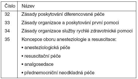 Metodická opatření MZ ČR