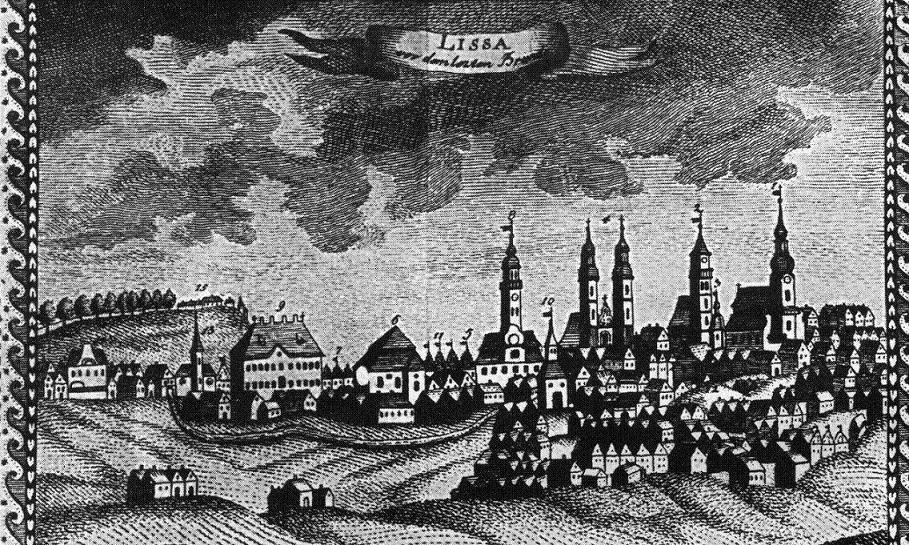 Pohled na Lešno před třicetiletou válkou