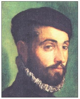 Portrét muže s baretem