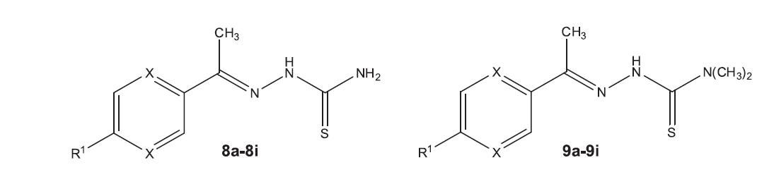 Fig. 4. Structures of the studied compounds