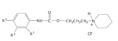 Piperidinylpropyl estery