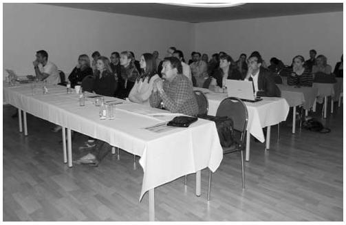 Přednáškový sál na IX. semináři mladých revmatologů