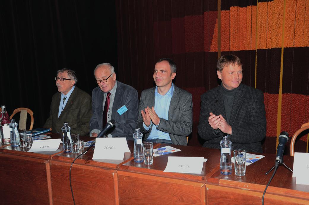 prof. MUDr. Rajko Doleček, DrSc., prof. MUDr. Jiří Látal, CSc., doc. MUDr. Pavel Zonča, PhD., FRCS, doc. MUDr. David Feltl, Ph.D. MBA.