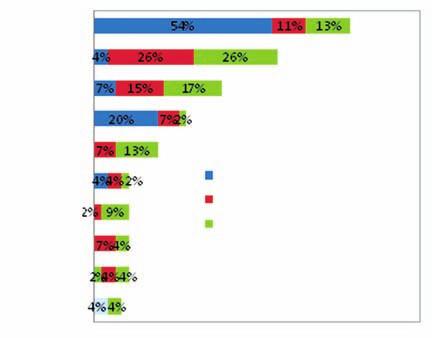 Země, z nichž nejčastěji pocházeli zahraniční klienti v roce 2010
