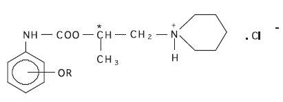 Štruktúra študovaných látok Templát: R = -CH<sub>3</sub> v polohe 2 (2-MPCA). Ďalšie študované látky: R = -CH<sub>3</sub> v polohe 4 (4-MPCA), R = -C<sub>10</sub>H<sub>21</sub> v polohe 2 (2-DPCA) a R = -C<sub>10</sub>H<sub>21</sub> v polohe 4 (4-DPCA)