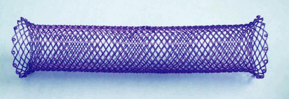 Biodegradabilní stent ELLA (BD stent) Fig. 6. Biodegradable ELLA stent (BD stent)