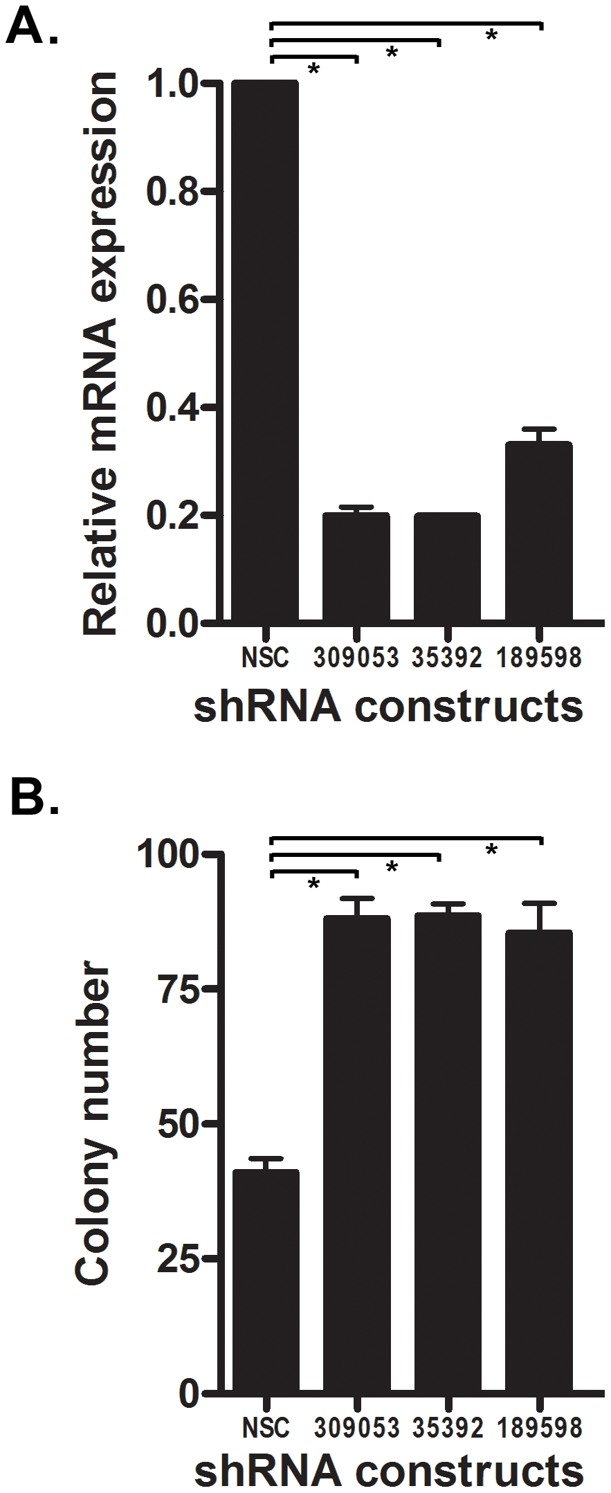 Knock-down of <i>Ntrk3</i> expression contributes to neoplastic transformation in normal colon epithelial cells.