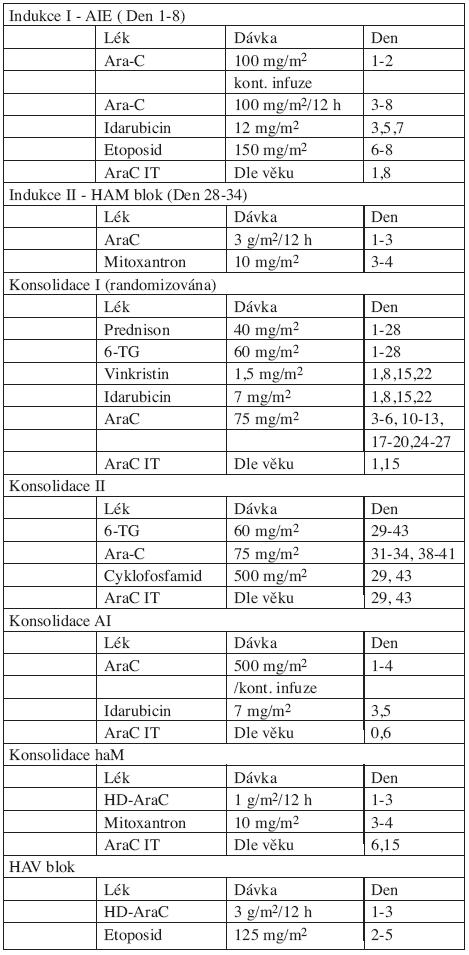 Protokol AML-BFM 98.