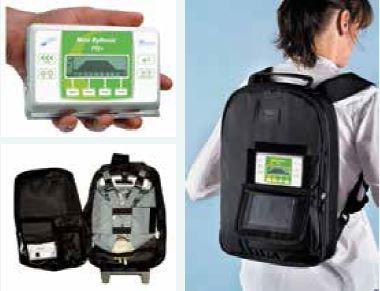 Mobilní infuzní pumpa pro parenterální výživu Mini RythmicTM PN+ společnosti Micrel Medical Devices