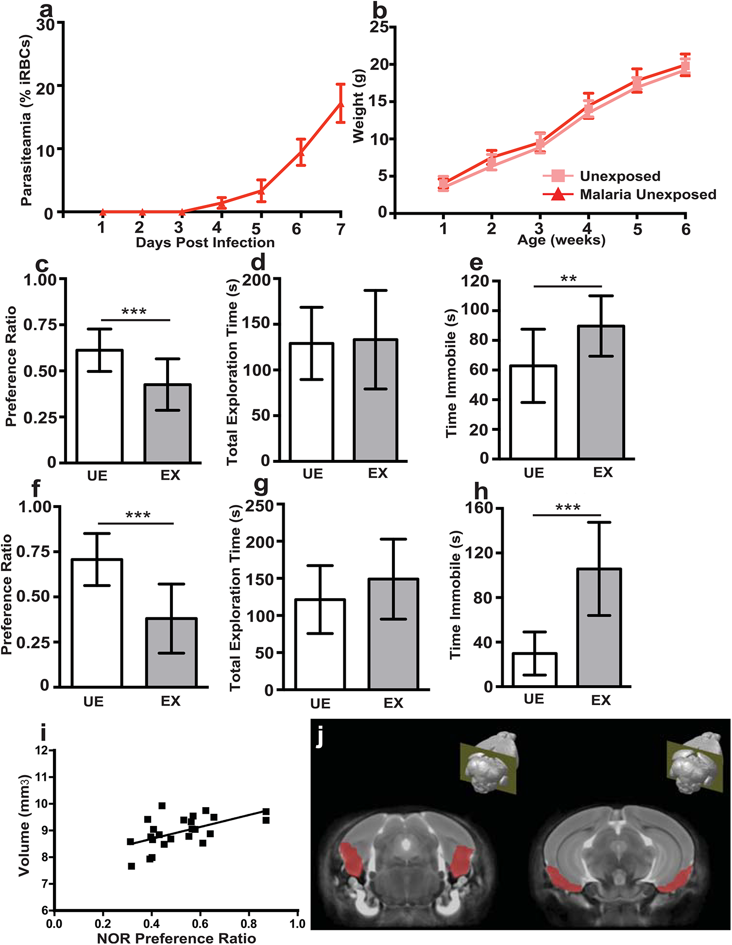 <i>In utero</i> exposure to EMIP induces a persistent neurocognitive phenotype in offspring but is not associated with regional volumetric anatomical changes determined by MRI.