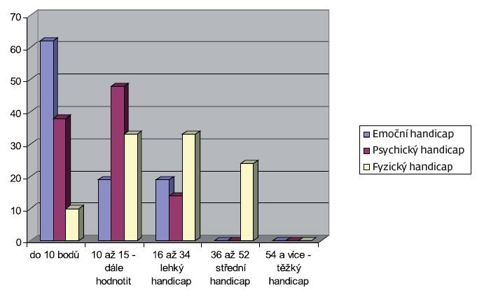 Výsledky dotazníku DHI