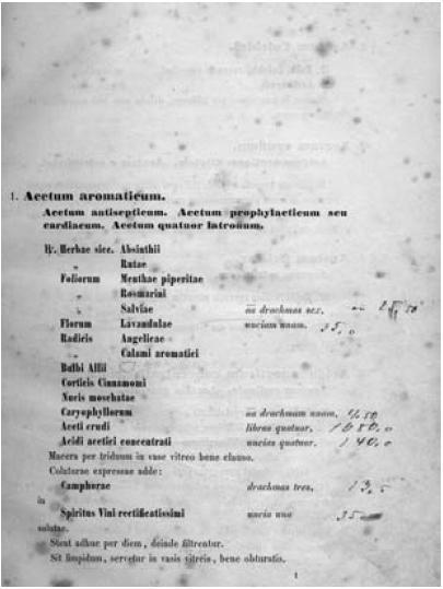 Pharmacopoea Austriaca. Editio quinta. Viennae. 1855.