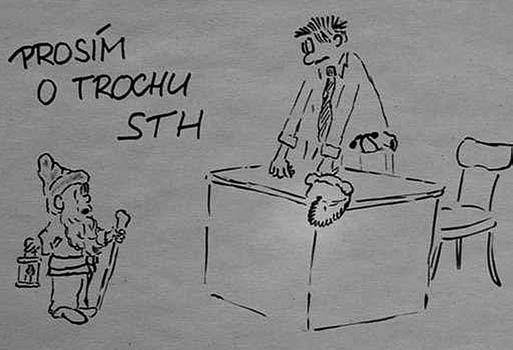 Trpaslíček u lékaře.