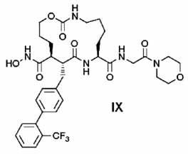 Selektívny makrocyklický inhibítor TACE <sup>3)</sup>