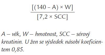 Cocroftův vzorec.
