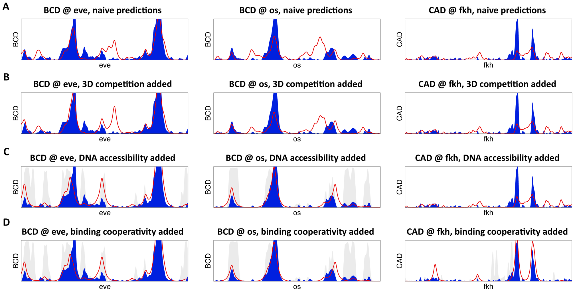 High-resolution predictions of protein-DNA binding landscape.