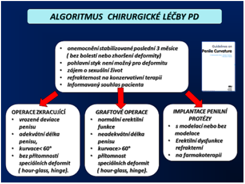 Algoritmus chirurgické léčby PD (5) Fig. 12 Algorithm of surgical treatment PD (5)