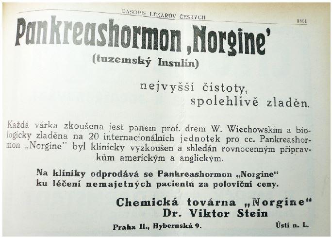 Časopis lékařů českých z roku 1923, č. 49, s. 228