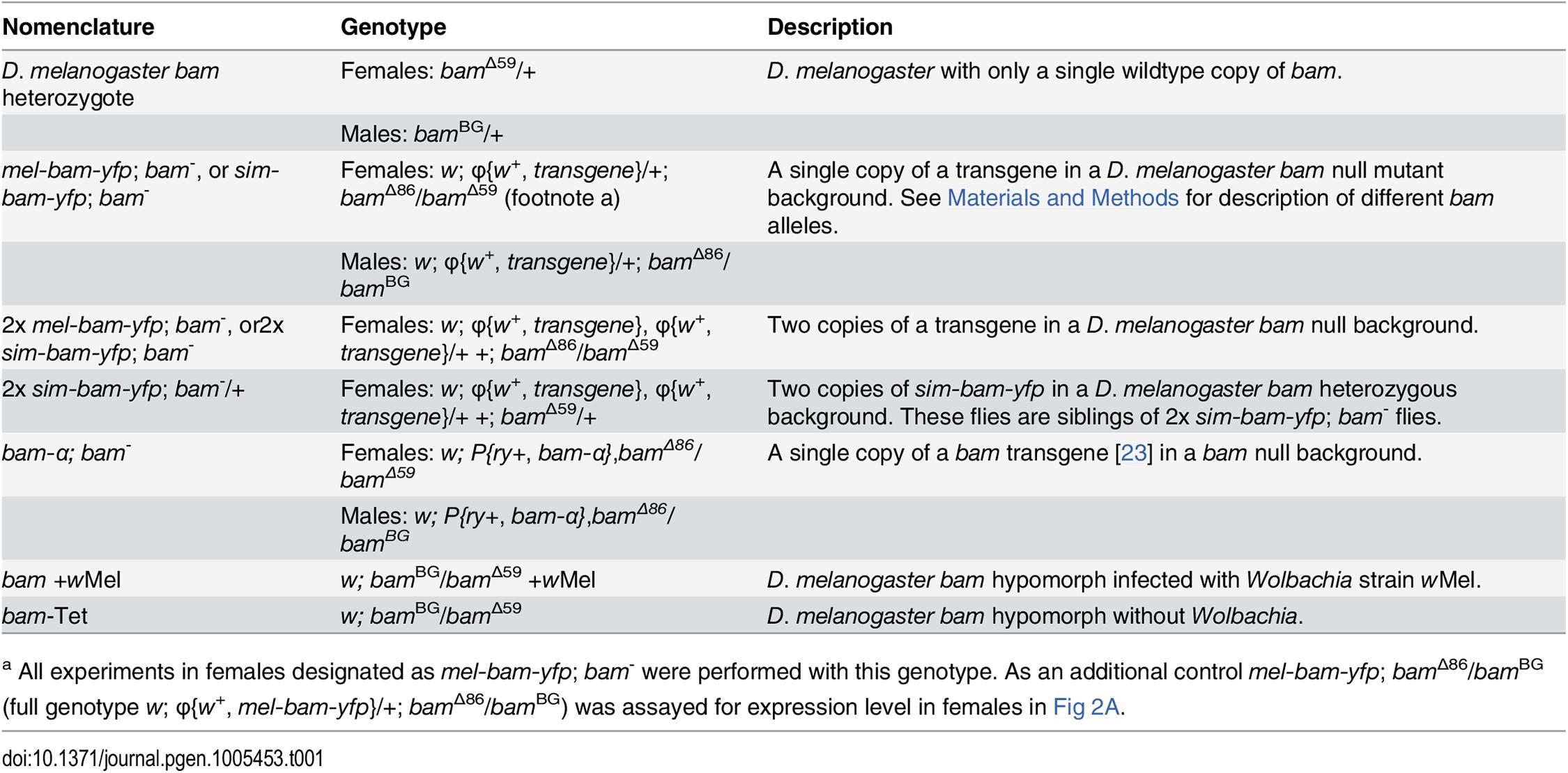 Nomenclature.