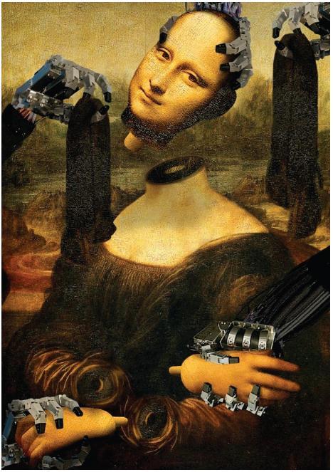 Leonardo da Vinci – robot Fig. 3: Leonardo da Vinci – robot