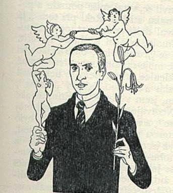 Jaroslav Durych v kresbě V. H. Brunnera