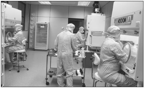 Aseptická příprava cytotoxických léčiv v lékárně MOÚ
