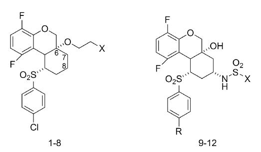 Tricyklické sulfóny ako inhibítory γ-sekretázy