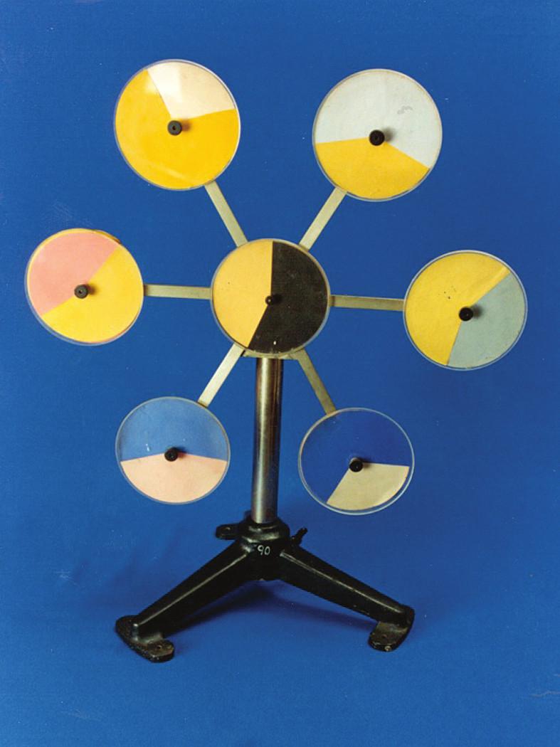 Rotační směšovač barev sedminásobný