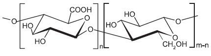 Strukturní vzorec oxycelulosy