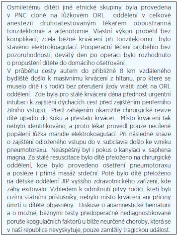 Kazuistika II.