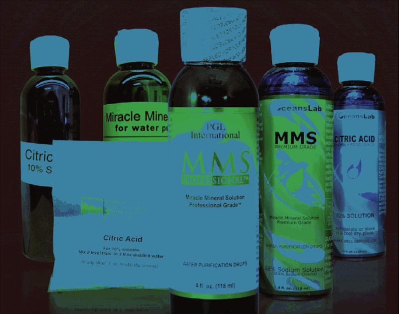 Potravinový doplněk Miracle Mineral Supplement můře způsobit vážné zdravotní obtíže. Foto: Archiv