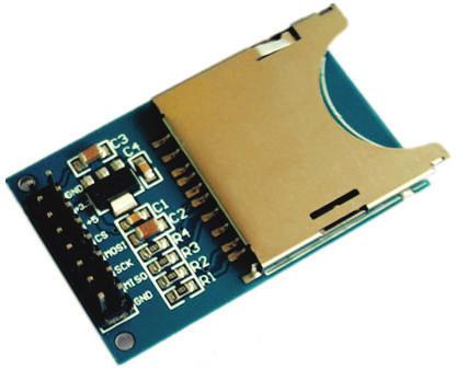Fig. 6: SD card module