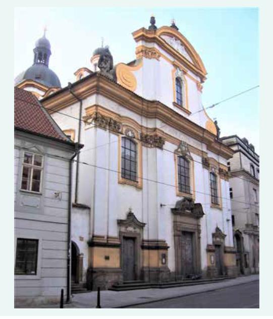 kostel Nejsvětější Trojice – místo Ottova sňatku s Amélií Zdekauerovou (1876)