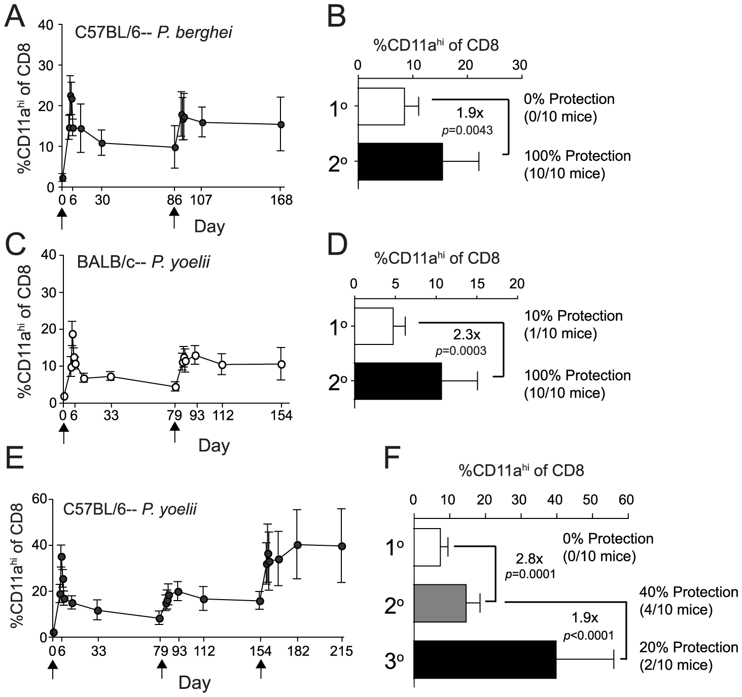 Homologous <i>Pb</i>- or <i>Py</i>-RAS boosting of mice elicits robust memory CD8 T cell responses but does not enhance protection of C57BL/6 mice against <i>Py</i> sporozoite challenge.