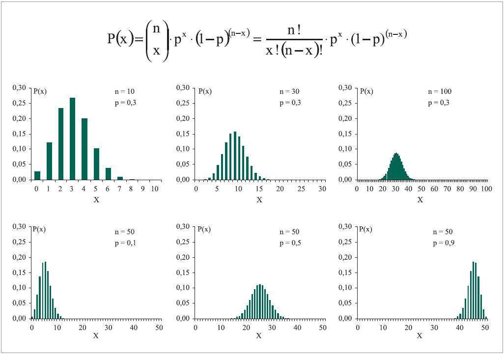 Binomické rozložení jako model.