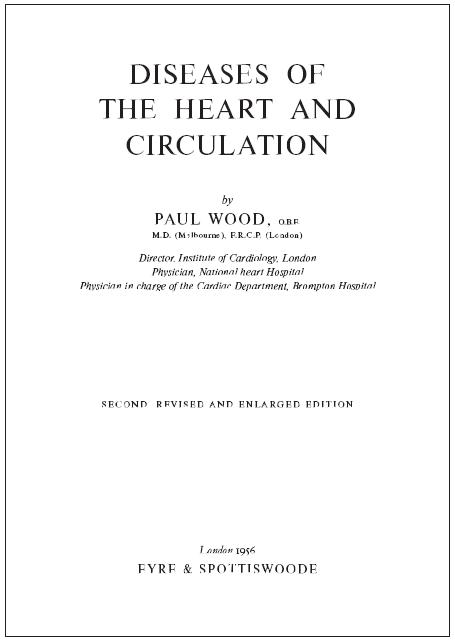 Titulní list 2. vydání Woodovy knihy.