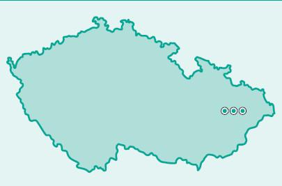 Výskyt FMF na Moravě