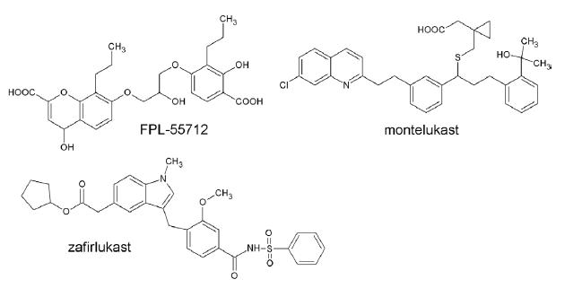 Antagonisty Cys–LT receptorov