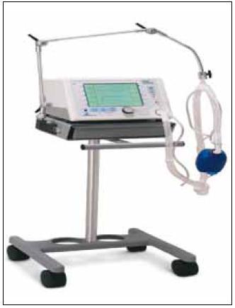 Ventilátor pro neinvazivní plicní ventilaci BiPAP Vision.