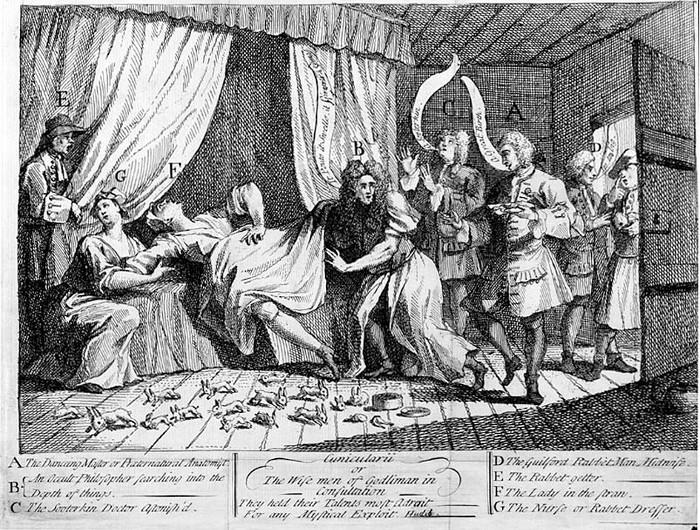 Karikatura rodící Mary