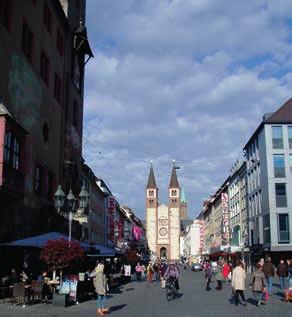 Ulica Dómu svätého Kiliana vo Würzburgu
