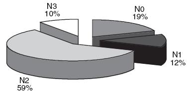 Složení souboru podle hodnot N.