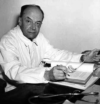 Prof. MUDr. Vladimír Jedlička, DrSc. (1896–1973).