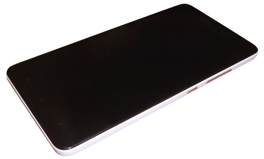 Mobilní telefon použitý pro generaci virtuálního prostředí.
