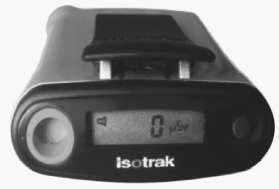 Elektronický dozimetr Isotrak