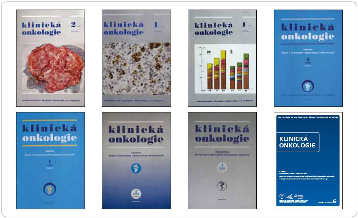 Klinická onkologie 1988–2012.
