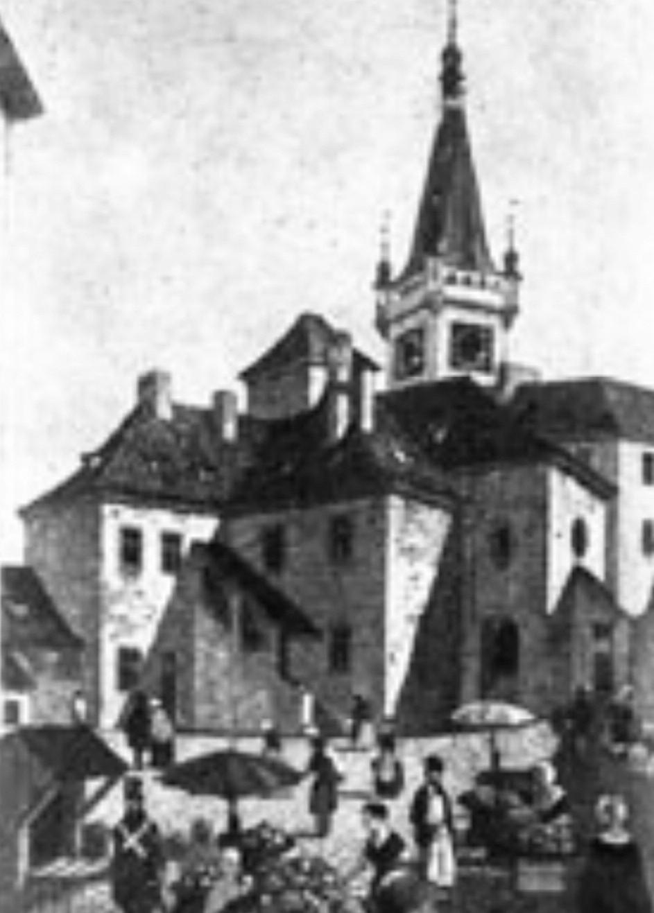 Rok 1842 – Dětská nemocnice sv. Lazara (9 lůžek)