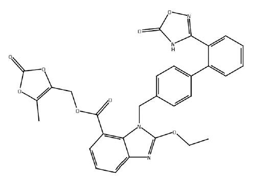 (XI) azilsartan medoxomil