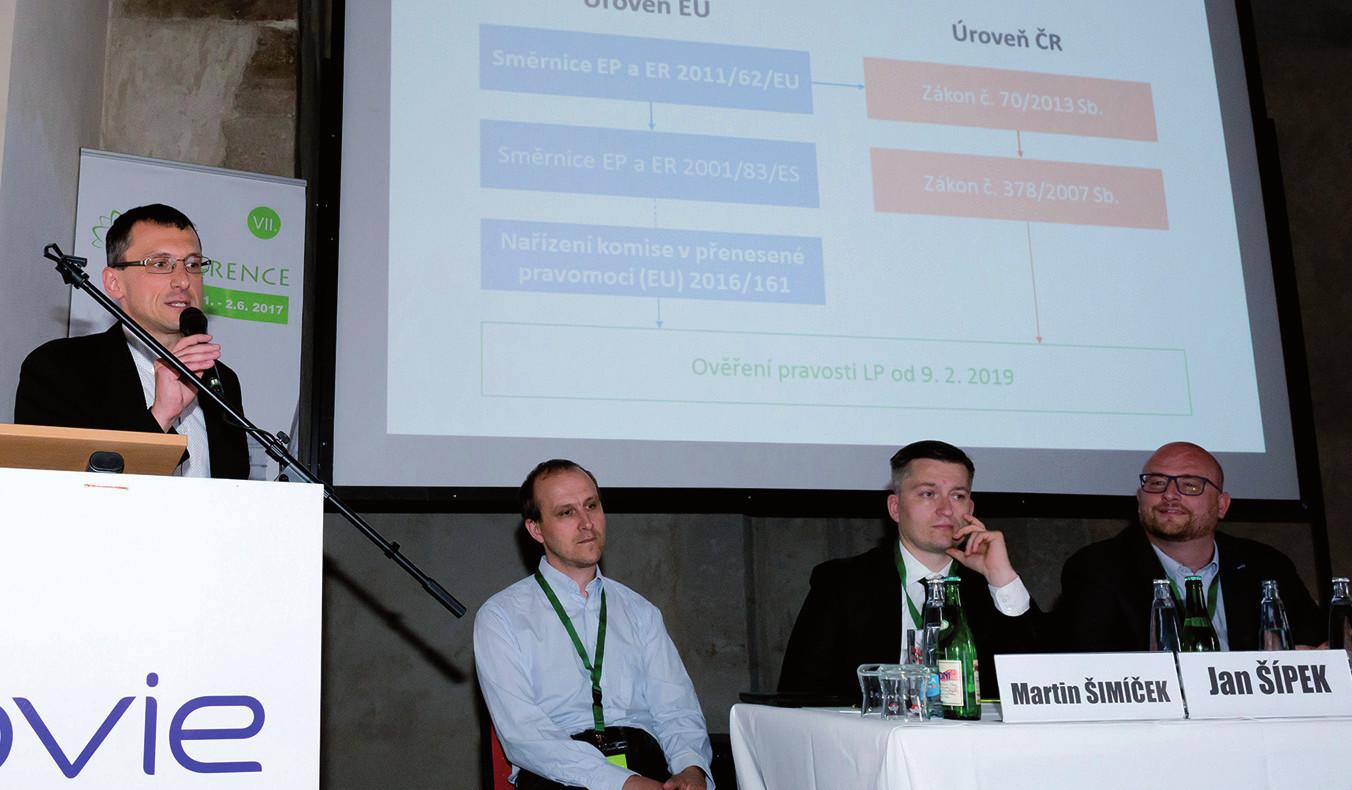 V prvním přednáškovém a diskusním bloku vystoupil rovněž výkonný ředitel ČAFF Mgr. Martin Mátl.